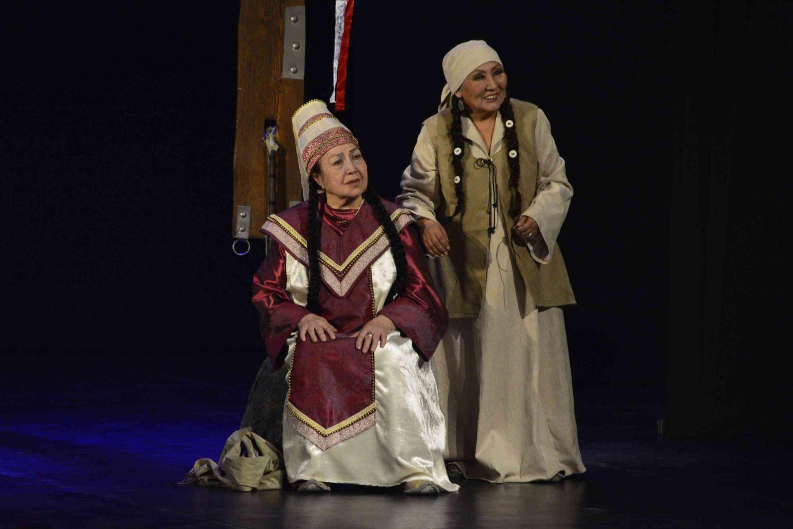 «Колыбель» (Национальный драматический театр имени П.В. Кучияк (Республика Алтай) (в рамках XV Международного театрального фестиваля тюркских народов «Науруз»)