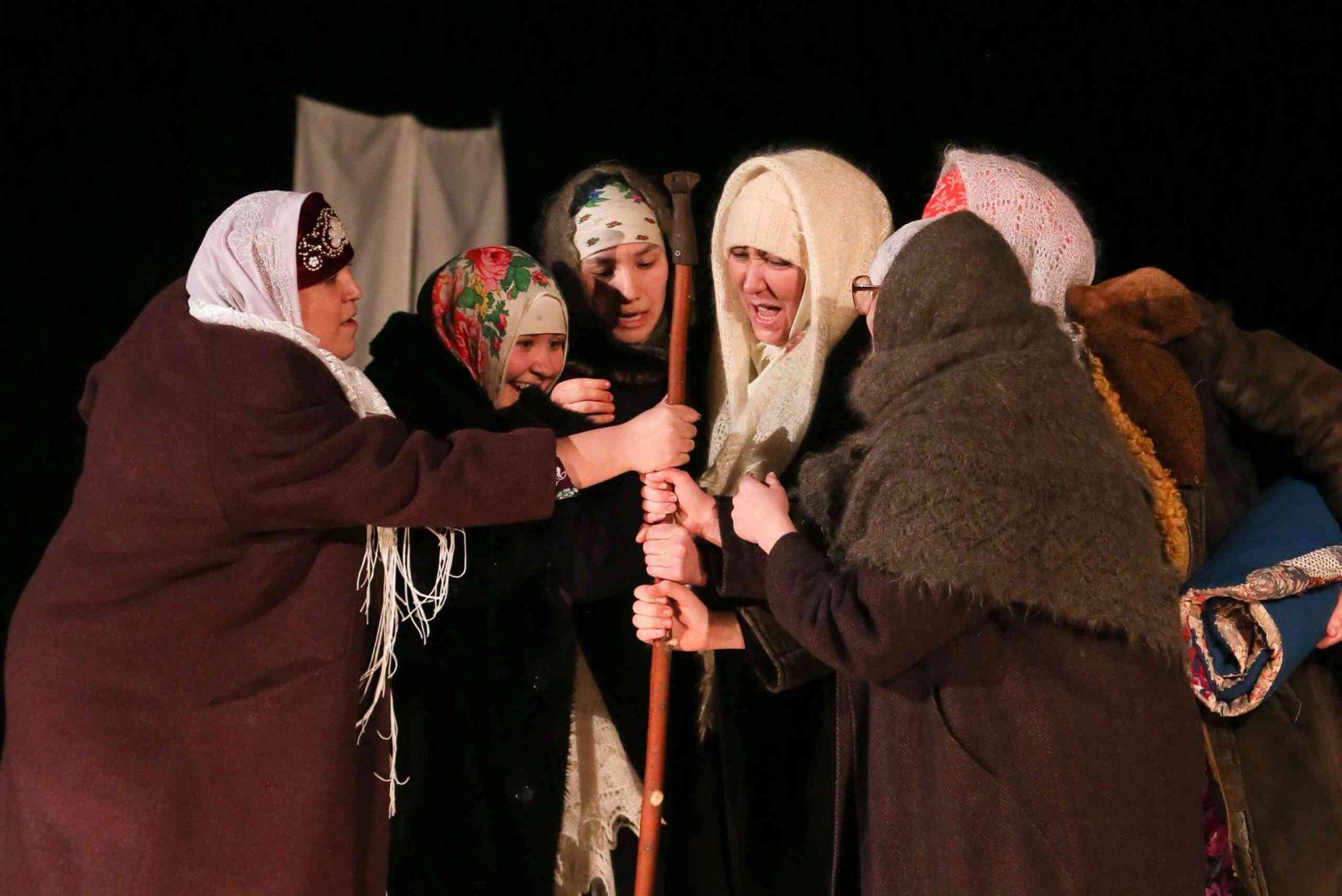 «Жребий» (Буинский государственный драматический театр) (в рамках XV Международного театрального фестиваля тюркских народов «Науруз»)